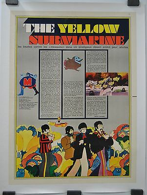 the beatles yellow submarine george dunning movie poster
