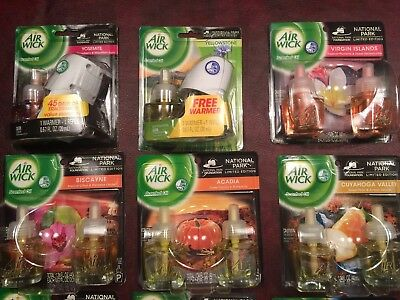 Complete National Park Series Airwick Refill Scented Oils