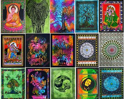 Lot Of  Assorted Poster Indian Wall Hanging Mandala Home Decor Tapestry Throw Us