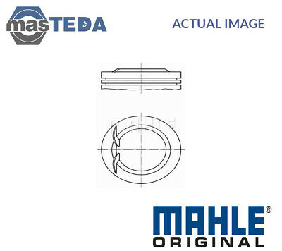 Engine Piston & Rings Mahle Original 011 02 00 I Std New Oe Replacement