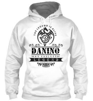 Legend Is Alive Danino An Endless - The Gildan Hoodie Sweatshirt