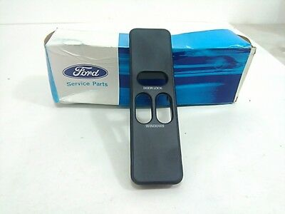 Ford Nos F3uz-14524-a Power Window Lock Switch Bezel Trim Many E Series Van Lh