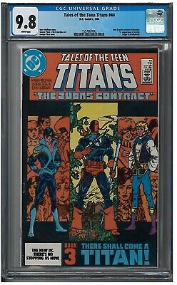 Tales Of The Teen Titans #44 Cgc 9.8 (7/84) Dc Comics White Pages