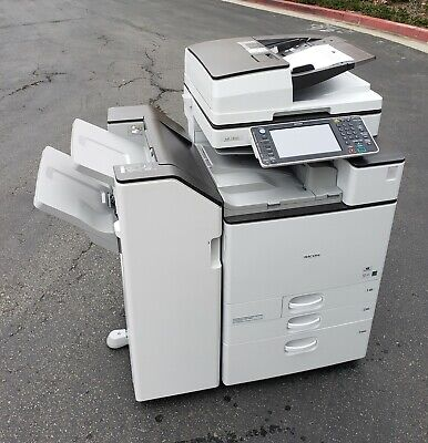 Ricoh Mpc5503 Color Copier, Printer, Scan 55 Ppm - Meter - Ultra Very Low. Va