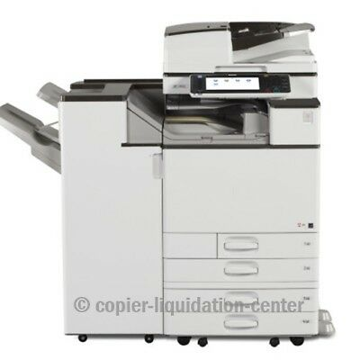 Ricoh Mp C5503 Color Copier, Printer, Scan, 55 Ppm - Meter  Very Low. Uv