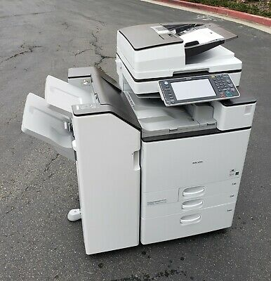 Ricoh Mpc5503 Color Copier, Printer, Scann 55 Ppm - Meter - Ultra Very Low. Jiww