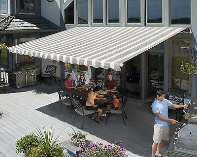 Sunsetter Motorized Retractable Awning, Xl Model Awnings To Shade Deck Or Patio