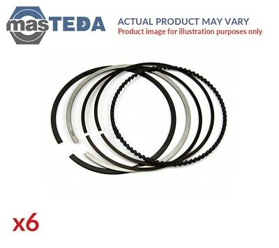 6x Engine Piston Ring Set For Mercedes Benz Gl350 Bluetec New Oe Replacement