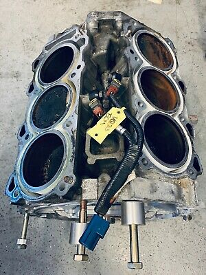 Used Nissan Vq35 Complete Short Block - Needs Rebuilt - Good Core