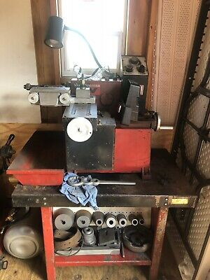 Van Norman 243 One Pass Variable Speed Disc And Drum Brake Lathe