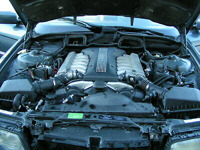 Bmw 750il V12 Engine Motor Long Block 111k Miles Tested Runs 99 - 01 11001439784