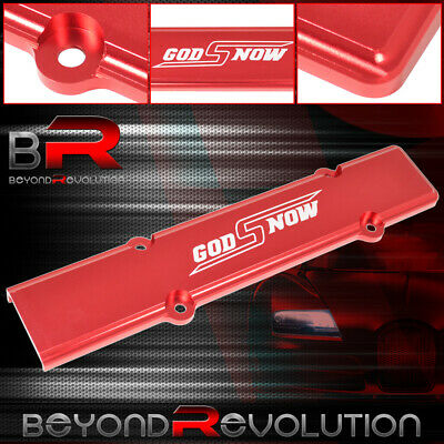 Red Aluminum Spark Plug Wire Cover B-series Honda Civic B16 B18