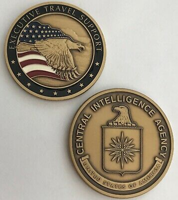 Vhtf Cia Central Intelligence Agency Sr Exec Ets Executive Travel Support Coin