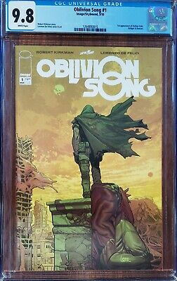 Image Skybound Oblivion Song #1 Cgc 9.8 White Pages Robert Kirkman Nm/mt