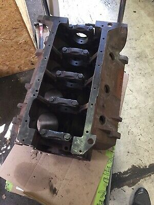 440 Mopar Bare Rb Block 030 Over Bore Size Chrysler Dodge Plymouth Dated 9-14-72