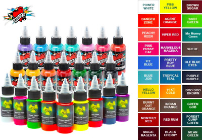 Moms Tattoo Inks Single Individual 1 Oz Bottles Pick Color Authentic 92 Tones