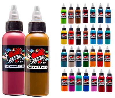 Moms Tattoo Inks Single Individual 2 Oz Bottles Pick Color Authentic 83 Tones