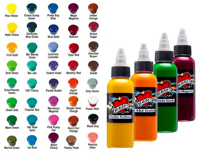 Moms Tattoo Inks Single Individual 4 Oz Bottles Pick Color Authentic 28 Tones