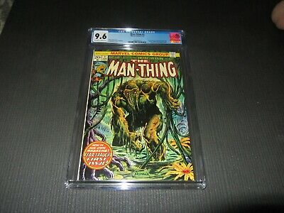 Man-thing 1 Cgc 9.6 Nm+, 2nd Howard The Duck (marvel 1974)