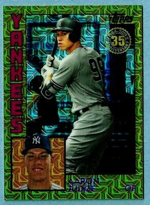 2019 Topps Aaron Judge Gold 1984-super Rare #1 Of 50-new York Yankee-only One #1
