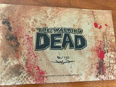The Walking Dead Sdcc 2019 Jason Edmiston Eyes Without A Face Exclusiveskybound