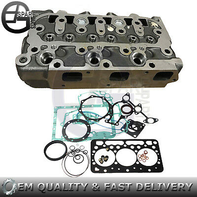 New Cylinder Head & Full Gasket For Kubota Zd18 Zero Turn Mower Bx1860d Bx1850d