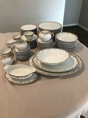 vintage,rare,beautiful limoges florale france b and c plates,bowls,cups,trays lot