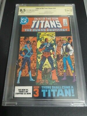 Tales Of The Teen Titans #44 (dc) 1st App. Nightwing Sig. Series George Perez