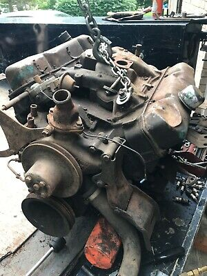Original Oem Chrysler Dodge Truck Plymouth 361 Complete Engine Dated 4-30-64