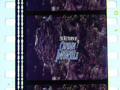 35mm Feature Film Movie, The Return Of Captain Invincible, 1983, Agfa Gevaert