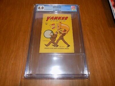 Yankee Comics #4 Cgc 8.0 (from The Collection Of Jon Berk) Single Highest Graded