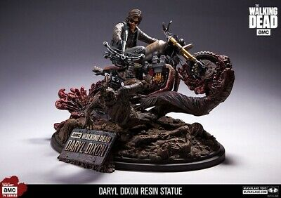 Mcfarlane Toys Walking Dead Daryl Dixon Resin Statue Signed By Todd 1195/1500