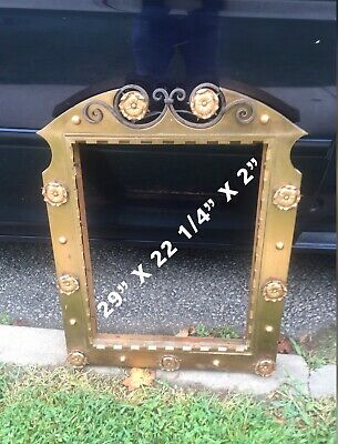 Antique Brass Wrought Iron Frame Displayed Menu Outside Restaurant In Europe