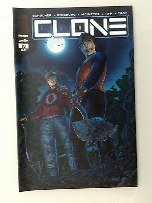 Clone#18 1st Print Nm High Grade 9.8 + If Cgc New Image Comics Skybound Ryp Tv 1