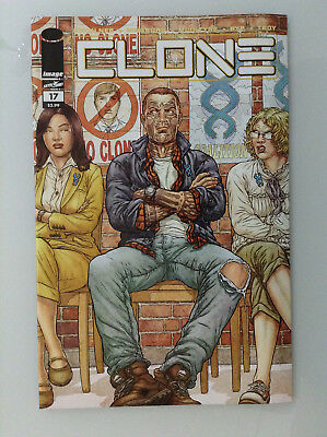 Clone#17 1st Print Nm High Grade 9.8 + If Cgc New Image Comics Skybound Ryp Tv 1