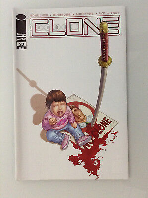 Clone#20 1st Print Nm High Grade 9.8 + If Cgc New Image Comics Skybound Ryp Tv 1