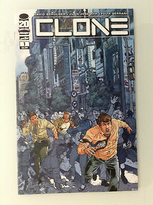 Clone#1a 1st Print Nm High Grade 9.8 + If Cgc New Image Comics Skybound Ryp Tv 1