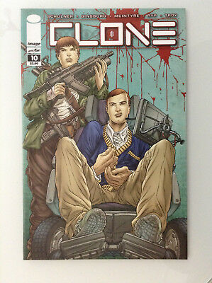 Clone#10 1st Print Nm High Grade 9.8 + If Cgc New Image Comics Skybound Ryp Tv 1