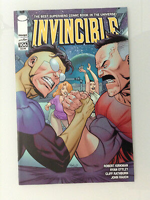 Invincible#106 Nm High Grade 9.6 + If Cgc Image Skybound Kirkman Ottley 9.4 9.8