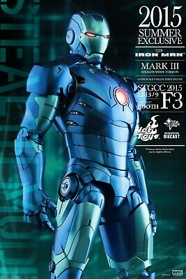 Hot Toys Iron Man Mark Iii Summer Exclusive 2015 (mms314d12)