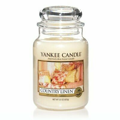 New Yankee Candle, Country Linen 22 Oz