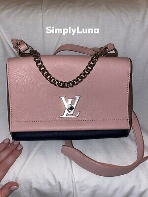 *nwt* Louis Vuitton Lockme Ii Bb R. Poudre Marine Taupe, Sold Out, Rare, M54576
