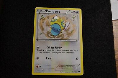 Pokemon DUNSPARCE XY Break Point 90/122 NM/Mint Never Played Cards