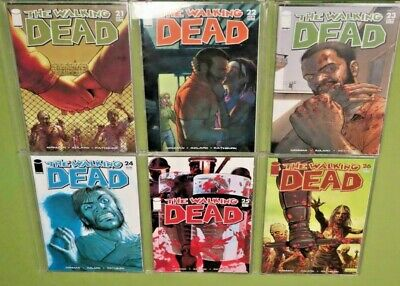 The Walking Dead 21 - 26 Lot Of 6 (image) All Nm+ Absolutely Pristine Condition!