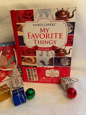 Yankee Candle Volume 1 My Favorite Things Votive 12 Sampler Book Gift Set New!