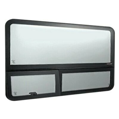 "For Mercedes-benz Sprinter 04-06 Fixed ""all-glass"" Look Window Forward Driver"