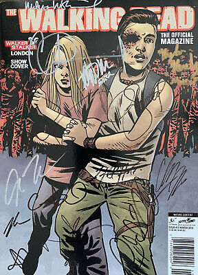 The Walking Dead Magazine, Walker Stalker Con Edition, Signed By Andrew Lincoln
