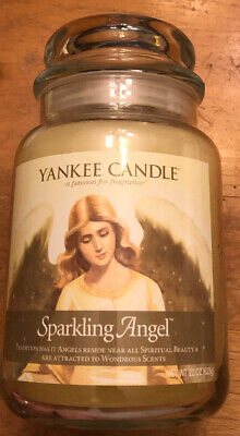 New Yankee Candle Sparkling Angel 22 Oz **super Rare**