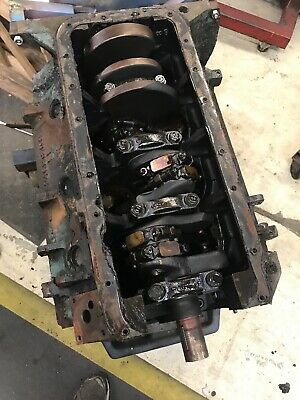 1967 Mopar 383 Short Block Dated 4-1-67 Chrysler Dodge Plymouth Std Bore Size