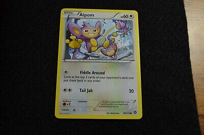 Pokemon AIPOM XY Steam Siege 90/114 NM/Mint Never Played Cards
